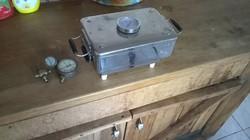 Medical pharmacy lab sterilizer + pressure gauges + some copper tap