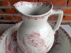 Sarreguemines tulipe washbasin set
