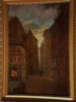 Antal Berkes (1874 - 1938): Pest Twilight