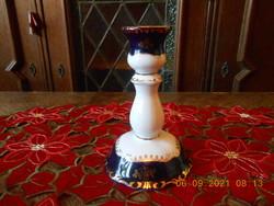 Zsolnay porcelain pompadour i candle holder
