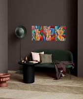 3 db-os GARNITÚRA!! B. Preszecsán Hajnalka-festmény/vászon 40x30cm