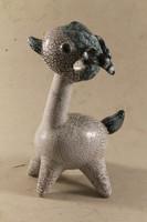 Art deco kerámia mozgó fejű kecske 490