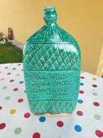 Green ceramic drink bottle for sale