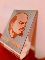 Lenin levélnehezék-asztali dísz