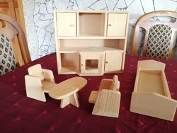 Wooden baby furniture.