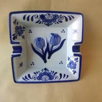 Dutch delft porcelain ashtray