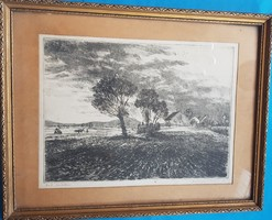 Máté Csurgói: landscape after rain