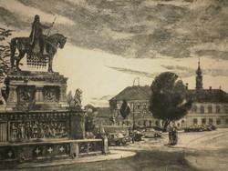 Máté lajos Csurgói (1931 - 2001): Buda atmosphere