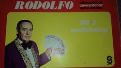 Rodolfo 30 + 1 stunt with 2 aluminum rodolfo coins
