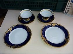Antique walbrzych breakfast porcelain set