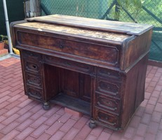 Antique Austrian desk with 22 drawers !!!