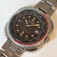 Sicura (by breitling) globetrotter the rarity of the legendary 1970s watch