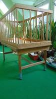 Retro rollable crib cot, cot, cot