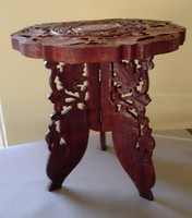 Carved oriental table for sale!