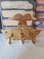 Duckling copper hanger