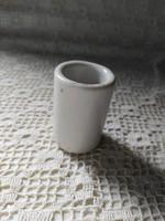 Tiny porcelain pharmacy mortar 5 x 3.5 cm