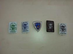 Raven house porcelain badges