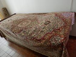 Huge school, carpet, bedspread