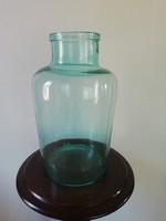 Régi 5 literes befőttes üveg, dekorációs tárgy