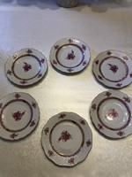 Herend apponyi cookie plates! 6Db