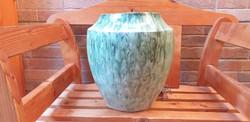 Zsolnay eozin Váza egyedi minta darab
