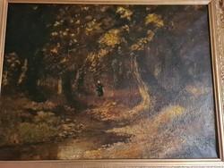 Alois Arnegger csodálatosan szép festménye
