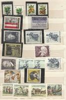 Kb 50 darab postatiszta osztrák bélyeg Ausztria sorok darabok csillag csillag KIÁRUSÍTÁS