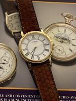 Longines grand classic quartz l4.720.2 Date men's watch!