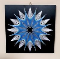String Art/Fonalgrafika/Mandala: Fali kép K01-02-40X40