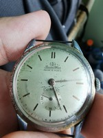 Sr. Reconvilier military style watch, professional, works, 37mm.Jumbo size, 40 and over!