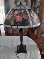 Tiffany lamp with i.L.Jensen roses
