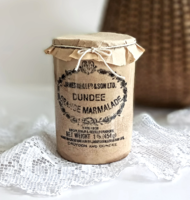 Antique English faience jam holder