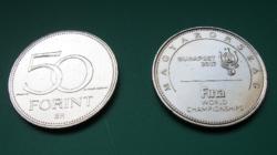 2017 - Fina - World Swimming Championships Hungary - 50 forint circulation coin commemorative version
