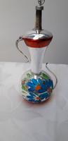 Karácsonyfadisz, nagyméretű üveg kancsó