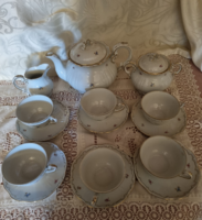 Zsolnay tea set for 6 people is flawless