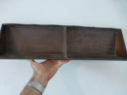 Retro, vintage wooden shelf
