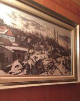 Arató István festménye / POMÁZI JANUÁR