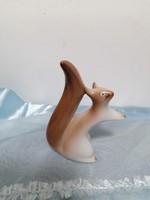 Russian lomonosov porcelain squirrel
