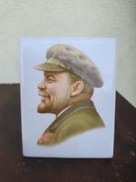 Szovjet Dulevo porcelán, Lenin