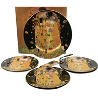 Klimt plate set in gift box