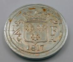Különös svájci frank alumínium veret
