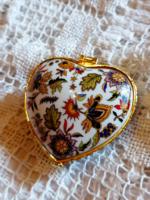 Heart shaped ring box or medicine box
