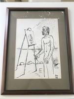 Miklós Borsos: the painter József Egry