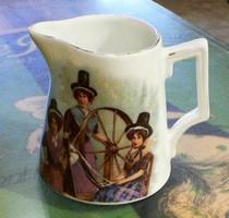 Antique cream jug