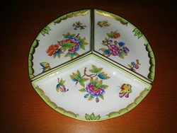Herend vbo victoria triangle serving bowl
