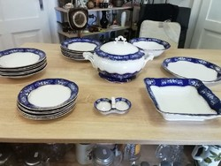 Zsolnay pompadour ii food set with 23 parts