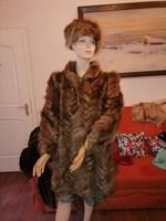 Szebbnél szebbek molett nálam  nagyon elegáns nyírt róka bunda alkalmi is 42 44  105 mellig 95 hossz