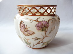 Zsolnay dawn patterned large pot