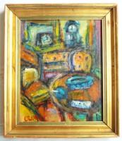 Czóbel Béla festmény