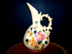 Antique majolica jug 19 cm high